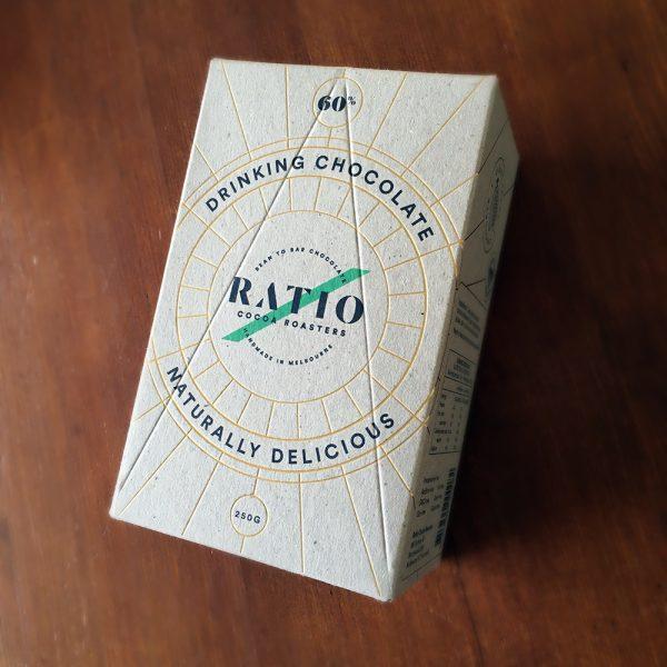 Ratio drinking chocolate box